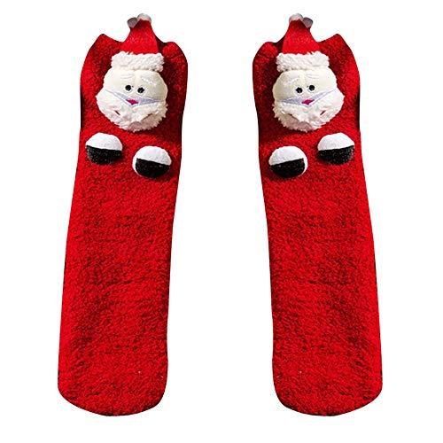 Mujeres Niñas Malla Navidad Imprimir Calcetines Para Mujer