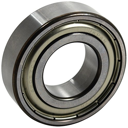 Koyo USA 6203 ZZC3 GXM Koy Ball Bearing, 17 mm Bore Size, 40 mm Outer Diameter, 1.5748