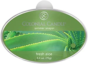 product image for Colonial Candle Fresh Aloe Simmer Snaps