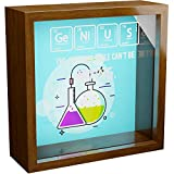 Chemistry Gifts   6x6x2 Memory Shadow Box   Glass Fronted Keepsake Box   Science Decor for Chemist   Special Science Nerd Gift   Wall Decor for Chemistry Lovers   Nerdy Decorations for Home