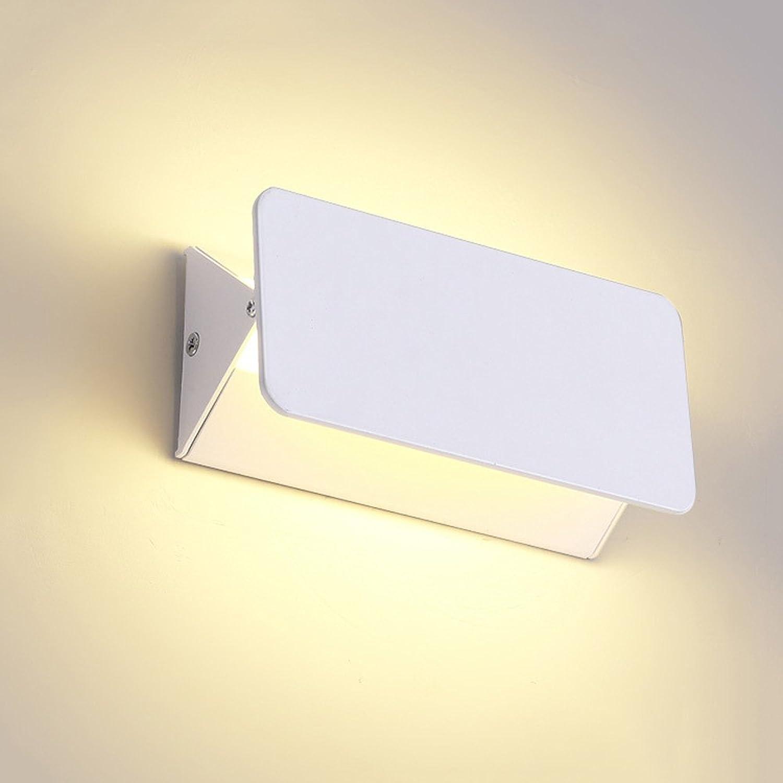 moda clasica Lizichun LED Lámpara de Parojo Simple Simple Simple Moderno Hogar Dormitorio Creativo Sala de Lectura Sala de luz Hotel Pasillo Escaleras Iluminación Ingeniería Decoración Lámpara de Ahorro de energía (blancoo)  Sin impuestos