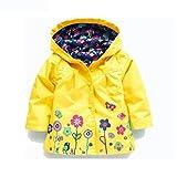 Iuhan Baby Girls Clothes Jacket Raincoat Coat Outerwear Children Clothing Jacket...