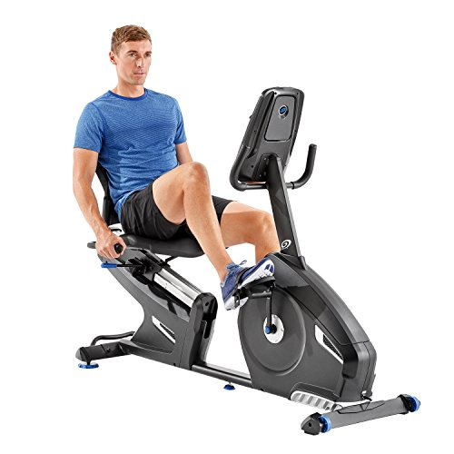 Nautilus R616 Recumbent Bike, Black