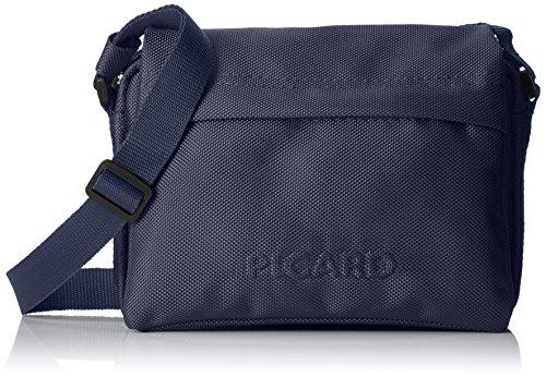 Picard Damen Hitec Umhängetasche, Blau (Navy), 5x15x22 cm