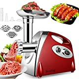 Nestling® Electric Meat Mincer Grinder and Sausage Maker,Powerful 2800 Watt Copper Motor