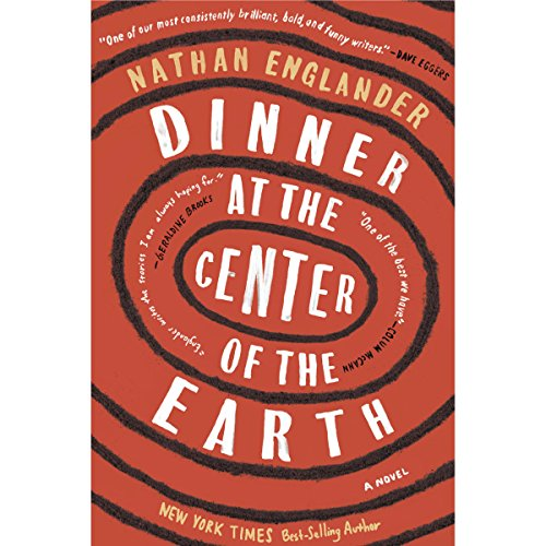 Dinner at the Center of the Earth audiobook cover art
