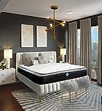 SpringAir_ Colchón King Size Semi Firme con Pillow Top de Máximo Confort |...