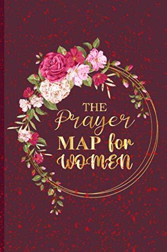 The Prayer Map for Women: A Creative Prayer Journal for Christian Women