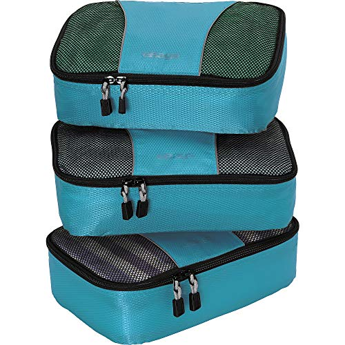 eBags Small Packing Cubes - 3pc Set (Aquamarine)