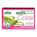 Aloe Pura Aloe Vera Colon Cleanse Advanced 60 Tablets x 3 Packs by Aloe Pura