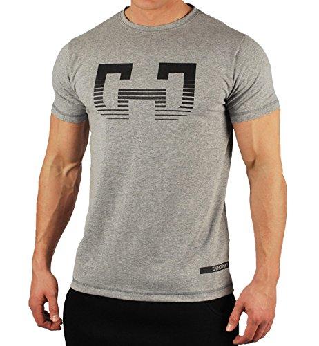 (ビベター)Bebetter トレーニングウェア 半袖Tシャツ メンズ スポーツシャツ 吸汗速乾 筋トレ ストレッチ スポーツウェア ボディビル