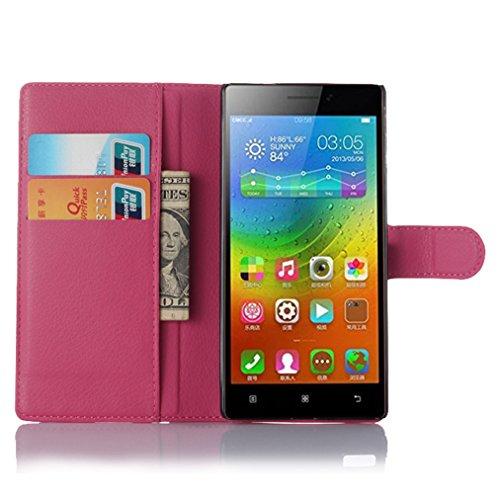 Manyip Funda Lenovo Vibe X2 Pro, Caja del teléfono del Cuero,Protector de Pantalla de Slim Case Estilo Billetera con Ranuras para Tarjetas, Soporte Plegable, Cierre Magnético