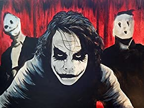 Buyartforless Chaos Ed Capeau 16x12 Print Poster Wall Decor The Joker Art Made in The USA!