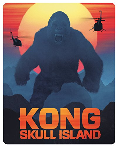 Kong: Skull Island [Steelbook] (exklusiv bei Amazon.de)[3D Blu-ray] [Limited Edition]