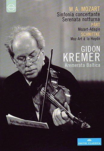 Mozart: Sinfonia concertante; Serenata notturna; Part: Mozart-Adagio; Schnittke: Moz-Art a la Haydn [DVD Video] by Mozart