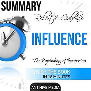 Summary: Robert Cialdini's 'Influence' audiobook cover art