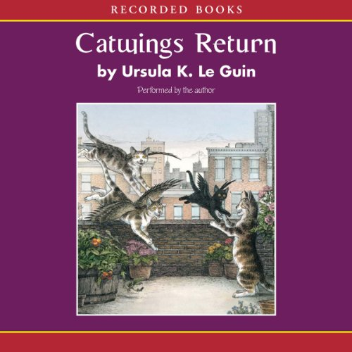 Catwings Return audiobook cover art