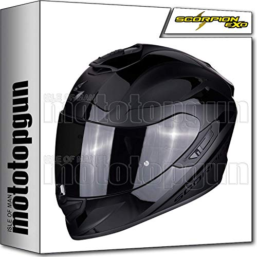 Scorpion 14-161-48 Integralhelm EXO-1400 Air Freeway II schwarz matt schwarz L