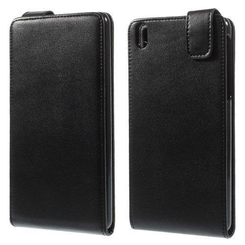 jbTec® Flip Hülle Handy-Hülle passend für HTC Desire 816 - Schwarz - Handy-Tasche Schutz-Hülle Cover Handyhülle