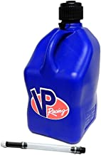 VP 5 Gallon Square Blue Racing Utility Jug with Deluxe Filler Hose