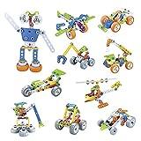 Kit de construcción de 167 piezas para niños de STEM, técnica...