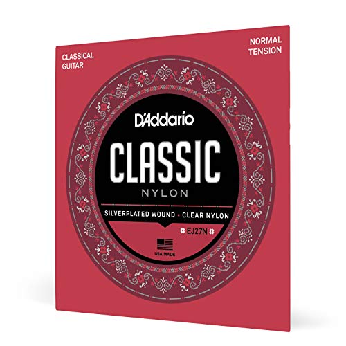 DAddario EJ27N Student Nylon Classical Guitar Strings Normal Tension