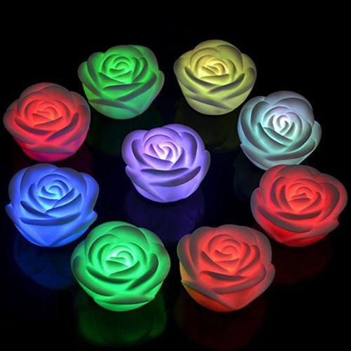 7 couleurs petites lampes de nui...