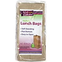 40 Count Nicole Home Collection Paper Lunch Bags
