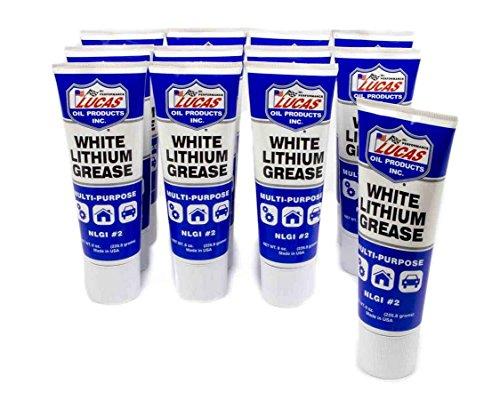 Lucas Oil 10533-12PK White Lithium Grease (12x8oz.), 1 Pack
