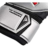 adidas Predator Top Training Fingersave - Guantes de Portero para Hombre, Color Plateado y Negro, 11