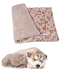 Dog Mat Vet Bed Puppy Bed Cat Blanket Dog Bed Small Cat Beds Dog Bedding Fluffy Cat Mat Thick Pet Blanket Kitten Bed Warm Dog Blanket