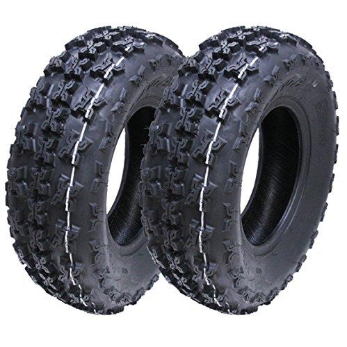 2 - Neumáticos Slasher quad, 21x7.00-10 WP01 Neumático Wanda Race 6ply E marcado 21 7 10