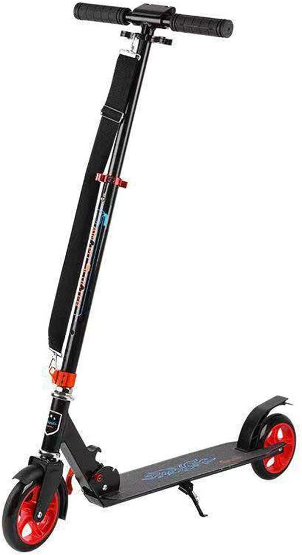 Envíos y devoluciones gratis. Scooter de Aluminio Ajustable Scooter Scooter Scooter City Scooter de Dos Rondas 200PU de Rueda Adecuado para Adolescentes Adultos,rojo  punto de venta de la marca