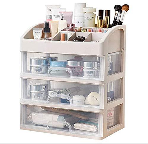 GZpart Boîte de rangement en acrylique pour pinceaux de maquillage, Style 2, Blanc