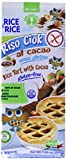 Probios Rice&Rice Tartita de Arroz con Cacao - Paquete de 12 x (6x33,4) gr - Total: 2400 gr