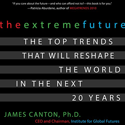 The Extreme Future audiobook cover art