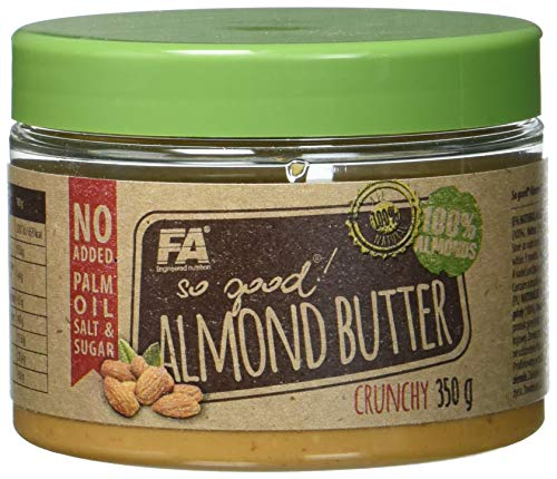 FITNESS AUTHORITY Almond Butter Crunchy, 350 g