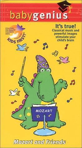 Baby Genius - Mozart and Friends [VHS]