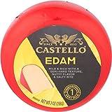 Castello Red Wax Edam Round, 7 oz