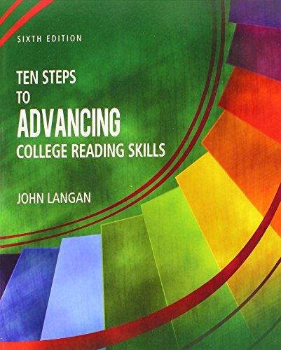 Compare Textbook Prices for Ten Steps to Advancing College Reading Skills 6 Edition ISBN 9781591944348 by John Langan