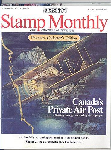 Scott Stamp Monthly Magazine November 1982 Volume 1 #1