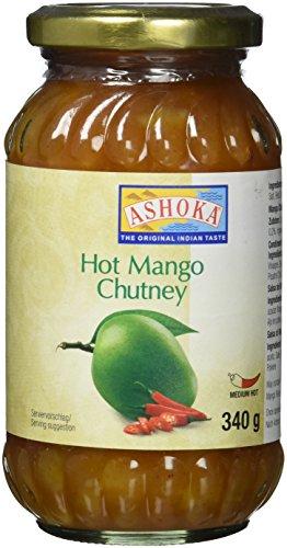 ASHOKA Mango Chutney, scharf (1 x 340 g)