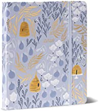 High Note 2020 Planner - Hardcover Day Planner 18-Month - Daily Weekly Monthly Planner Yearly Agenda Organizer: July 2019 - December 2020 Garden Honeybee Floral in Gold 7
