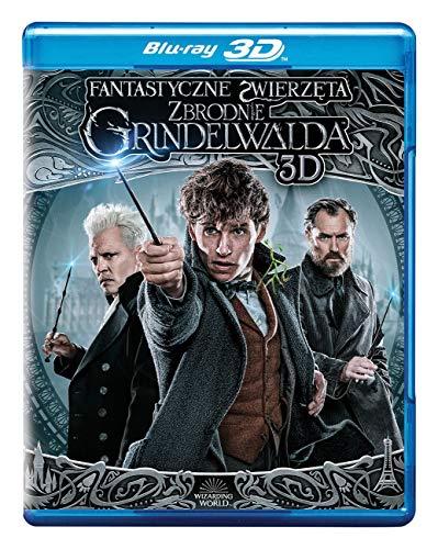 Les Animaux fantastiques: Les Crimes de Grindelwald [Blu-Ray]+[Blu-Ray 3D] [Region Free] (Audio français. Sous-titres français)