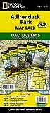 NATIONAL GEOGRAPHIC Adirondack Park Topo Map Pack Waterproof Topographic Trail Maps New York Adirondacks