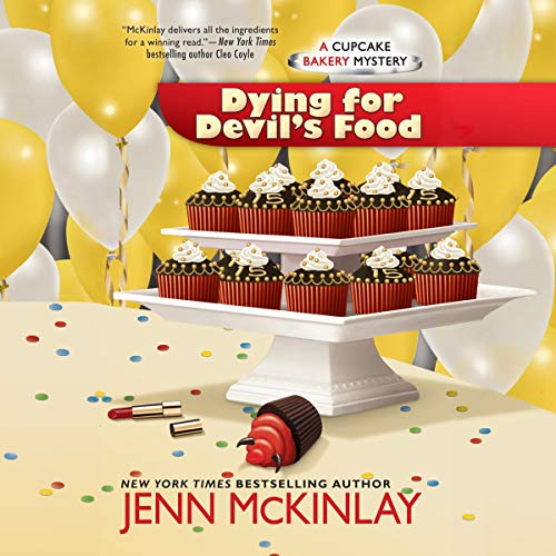 Dying for Devil's Food audiobook cover art
