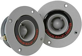 2 SUPER TWEETER PYRAMID TW18 TW 18 grigi da 150 watt rms e 300 watt max da 9,80 cm di diametro e 98 db con ridotta profondità solo 3,90 cm, a coppia