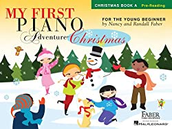 Kids Piano Lessons Vestavia - Faber My First Piano Adventure Christmas Book