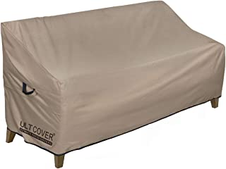 ULTCOVER Waterproof Outdoor Sofa Cover Durable Patio Loveseat Bench Covers 58W x 28D x 35 inch