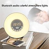 LXX Wake Up Licht, wecker mit sonnenaufgangssimulation, Kinder Aufwachen Licht wecker digital...